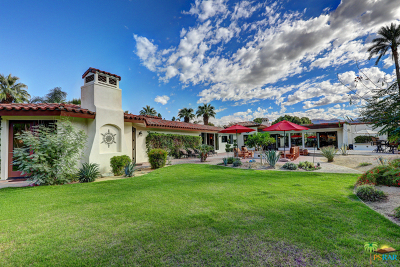 Rancho Mirage Single Family Home For Sale: 70300 Frank Sinatra Drive