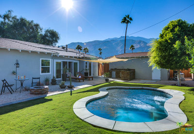 Palm Springs Single Family Home For Sale: 820 East Chuckwalla Road