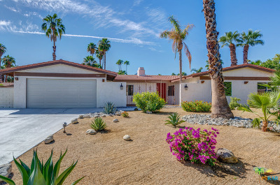 Palm Springs Single Family Home For Sale: 3105 Cambridge Court