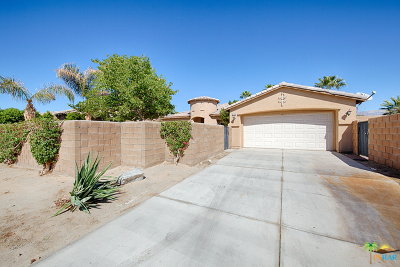 Indio Single Family Home For Sale: 83160 Shadow Hills Way