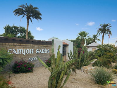 Palm Springs Condo/Townhouse For Sale: 2441 South Gene Autry #C