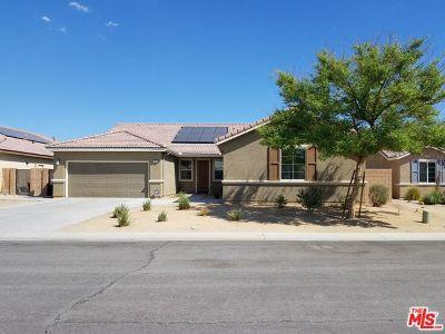 Indio Single Family Home For Sale: 43616 Pettirosso Street