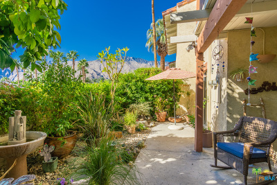 Palm Springs Condo/Townhouse For Sale: 1405 North Sunrise Way #1