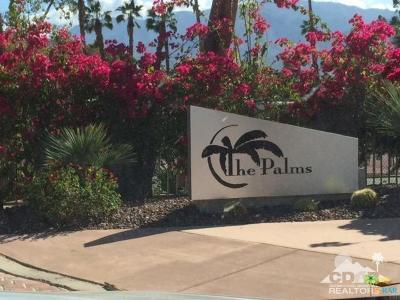 Palm Springs Condo/Townhouse For Sale: 3155 East Ramon Road #105