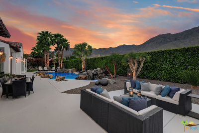 Cathedral City, Indio, Palm Springs Rental For Rent: 3207 Las Brisas Way