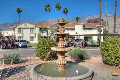 Palm Springs Condo/Townhouse For Sale: 505 South Farrell Drive #Q103