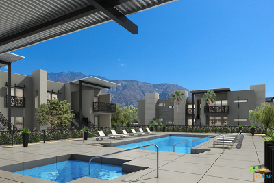 Palm Springs Condo/Townhouse For Sale: 130 The Riv #43
