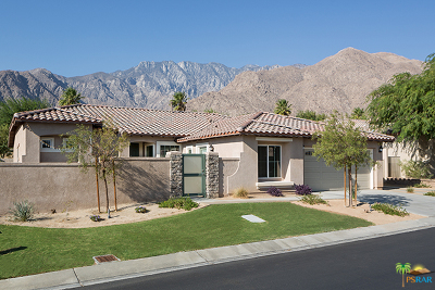 Palm Springs Single Family Home For Sale: 1247 Oro Ridge