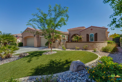 Sun City Shadow Hills Single Family Home For Sale: 81300 Camino Sevilla