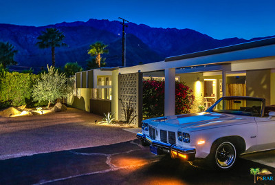 Palm Springs CA Single Family Home For Sale: $665,000
