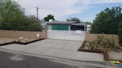 Palm Springs Single Family Home Contingent: 620 South Desert View Drive
