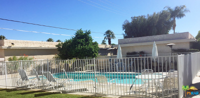 Palm Springs Condo/Townhouse For Sale: 775 East Vista Chino #1