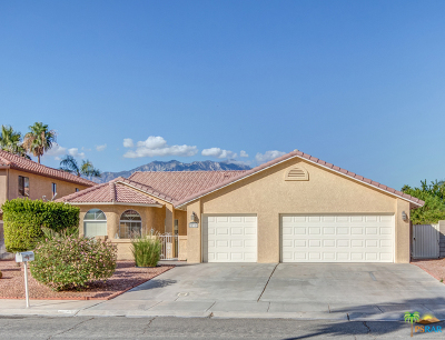Cathedral City Single Family Home For Sale: 28301 Horizon Road