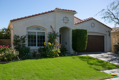Palm Springs Single Family Home For Sale: 3504 Cliffrose