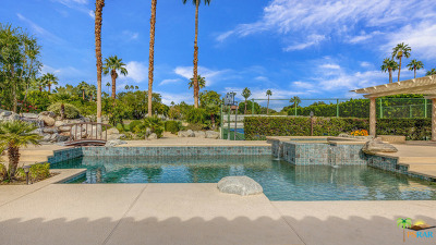 Palm Springs Single Family Home For Sale: 594 W Stevens Road