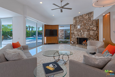 Palm Springs Single Family Home For Sale: 445 S Monte Vista Drive