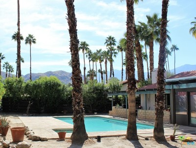 Palm Springs Single Family Home Contingent: 1500 S Beverly Drive