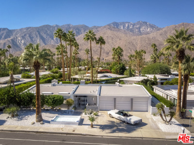 Palm Springs CA Single Family Home For Sale: $1,125,000