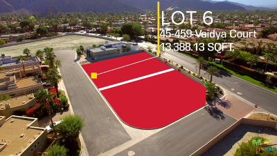 Indian Wells Residential Lots & Land Contingent: 45459 Vaidya Court