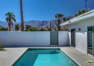 Palm Springs Single Family Home For Sale: 900 South Paseo Caroleta