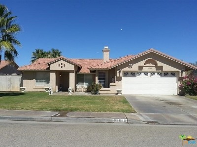 Cathedral City Single Family Home Contingent: 69688 Stonewood Court