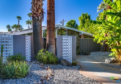 Palm Springs CA Single Family Home For Sale: $929,000