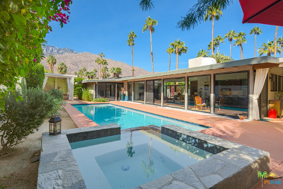 Palm Springs Single Family Home Contingent: 1363 East Deepwell Road