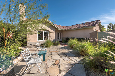 Palm Springs Single Family Home Contingent: 2190 North Paseo De Anza