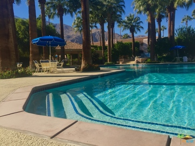 Palm Springs CA Condo/Townhouse For Sale: $188,000