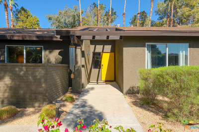 Palm Springs Single Family Home Contingent: 3140 East Escoba Drive