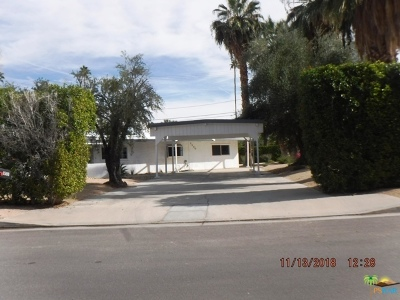 Palm Springs Single Family Home For Sale: 1580 South Via Soledad