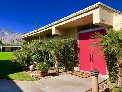 Palm Springs CA Condo/Townhouse Contingent: $489,500