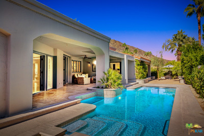 Palm Springs CA Single Family Home For Sale: $1,795,000