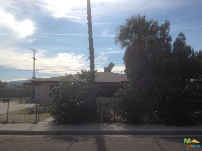 Palm Springs CA Single Family Home For Sale: $198,900