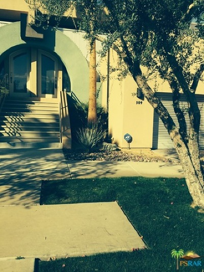 Palm Springs Condo/Townhouse For Sale: 100 East Stevens Road #509