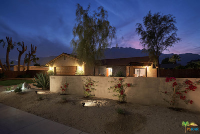 Palm Springs Single Family Home Contingent: 2177 North Cerritos Drive
