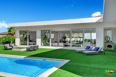 Palm Springs Single Family Home Contingent: 3072 Linea Terrace