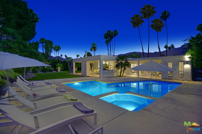 Palm Springs Single Family Home Contingent: 2262 South Yosemite Drive