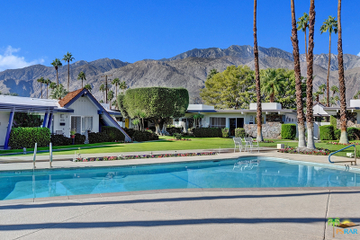 Palm Springs Condo/Townhouse For Sale: 1947 East Tachevah Drive