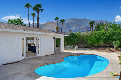 Palm Springs Single Family Home Contingent: 2180 East Wayne Road
