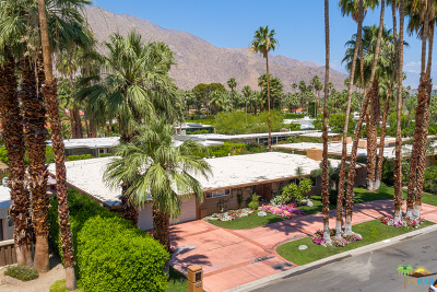 Palm Springs Single Family Home For Sale: 1433 West Calle De Maria