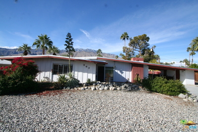 Palm Springs Single Family Home Contingent: 267 North Burton Way