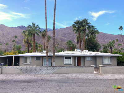 Palm Springs Single Family Home Contingent: 1555 South Indian