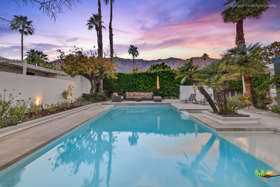 Palm Springs Single Family Home For Sale: 2675 South Calle Palo Fierro