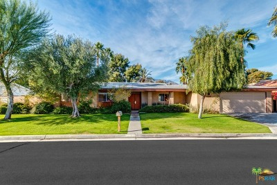 Palm Springs Single Family Home For Sale: 2107 South Bobolink Lane