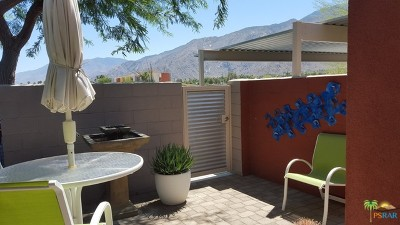 Palm Springs Condo/Townhouse For Sale: 3538 Foothill Avenue