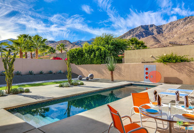 Palm Springs CA Single Family Home For Sale: $1,385,000