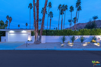Palm Springs Single Family Home For Sale: 2352 S Yosemite Drive