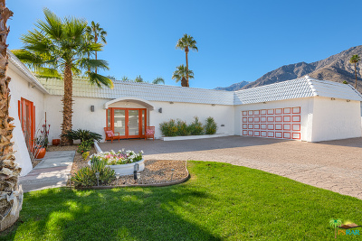 Palm Springs Single Family Home For Sale: 345 E Santiago Way