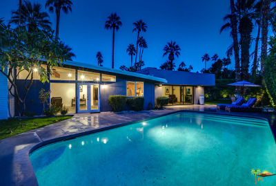 Palm Springs Single Family Home For Sale: 1835 Navajo Circle